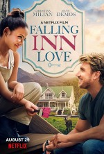 Falling Inn Love (2019) afişi