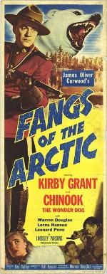 Fangs of the Arctic (1953) afişi