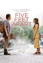 Five Feet Apart (2019) afişi