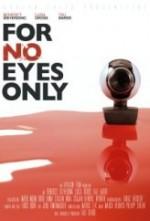 For No Eyes Only (2012) afişi