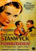 Forbidden (1932) afişi