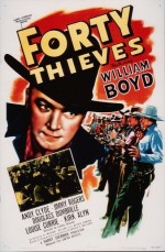 Forty Thieves (1944) afişi