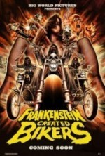 Frankenstein Created Bikers (2016) afişi