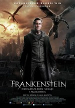 Frankenstein: Ölümsüzlerin Savaşı (2014) afişi
