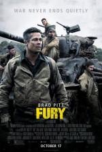 Fury (2014) afişi