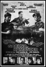Gabi Na, Kumander (1986) afişi