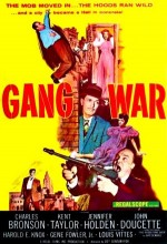 Gang War (1958) afişi