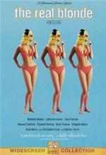 Gerçek Sarışın (1997) afişi