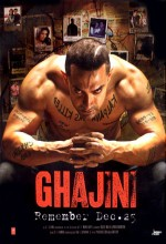 Ghajini (2008) afişi