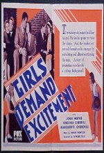 Girls Demand Excitement (1931) afişi