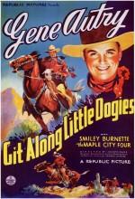 Git Along Little Dogies (1937) afişi