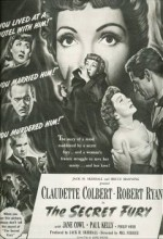 Gizli Öfke (1950) afişi
