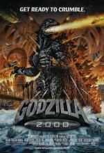 Godzilla 2000 (1999) afişi