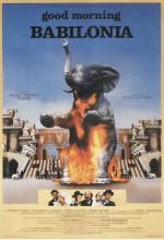 Good Morning Babilonia (1987) afişi