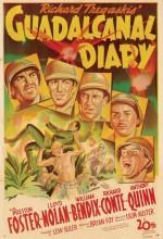 Guadalcanal Diary (1943) afişi