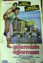 Güler Misin Ağlar Mısın (1975) afişi
