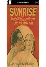 Gündoğumu: İki Kişinin Şarkısı (1927) afişi