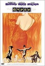 Gypsy (1962) afişi