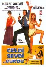 Geldi Sevdi Vurdu (1971) afişi