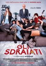 Gli sdraiati (2017) afişi