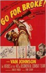 Go For Broke! (1951) afişi