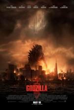 Godzilla (2014) afişi