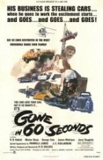 Gone in 60 Seconds (1974) afişi