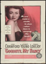 Goodbye, My Fancy (1951) afişi
