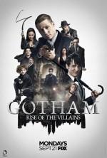 Gotham Sezon 3 (2016) afişi