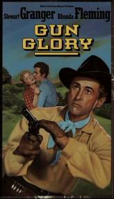 Gun Glory (1957) afişi
