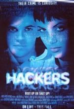 Hackers (1995) afişi