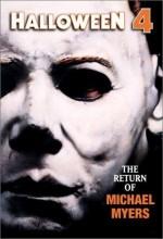Halloween 4: Michael Myers'ın Dönüşü (1988) afişi