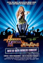 Hannah Montana & Miley Cyrus: Best of Both Worlds Concert (2008) afişi