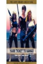 Hard Ticket To Hawaii (1987) afişi