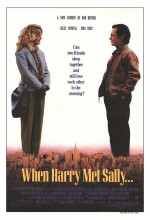Harry Sally İle Tanışınca (1989) afişi