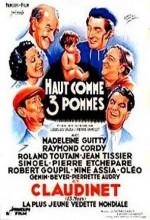 Haut Comme Trois Pommes (1936) afişi