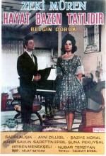 Hayat Bazen Tatlıdır (1962) afişi