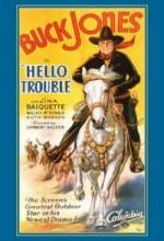 Hello Trouble (1932) afişi
