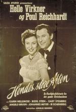 Hendes Store Aften (1954) afişi