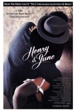 Henry Ve June (1990) afişi
