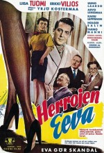 Herrojen Eeva (1954) afişi
