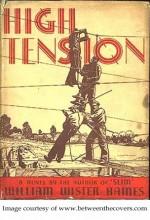 High Tension (1936) afişi