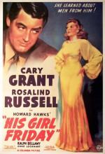 His Girl Friday (1940) afişi