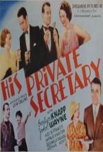 His Private Secretary (1933) afişi