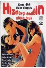 Hizmetçi Dediğin Böyle Olur (1964) afişi