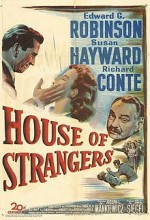 House Of Strangers (1949) afişi