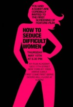 How To Seduce Difficult Women (2008) afişi