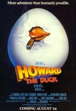 Howard The Duck (1986) afişi