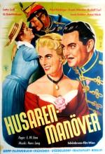 Husarenmanoever (1956) afişi