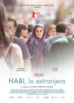 Habi, la extranjera (2013) afişi